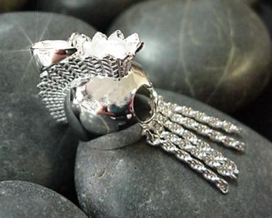 Hawaiian Jewelry Sterling Silver Medium Ikaika Warrior Helmet from Hawaii